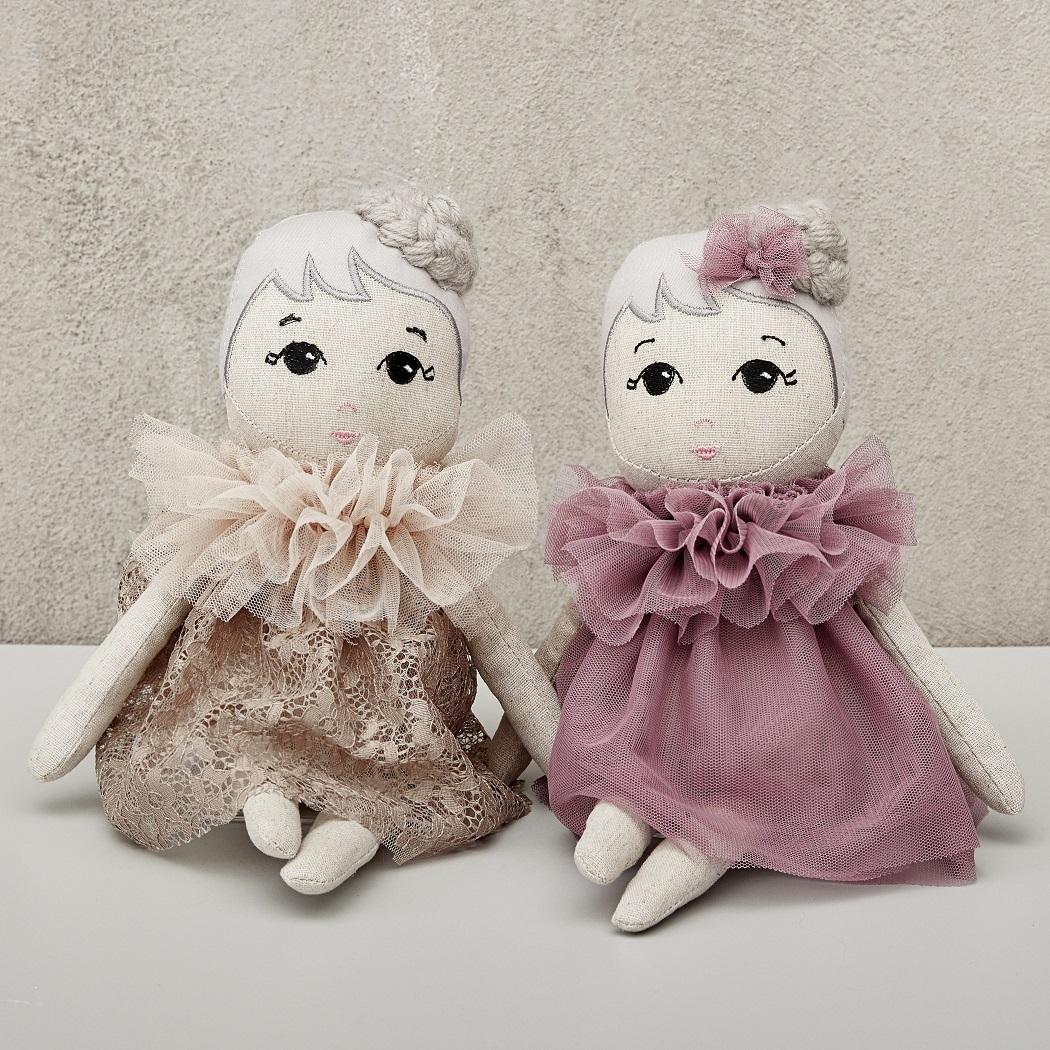 Fabric Doll Fleur Dolls Astrup Group A S